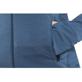 Icebreaker W's Fluid Zone LS Zip Shirt prussian blue/midnight navy